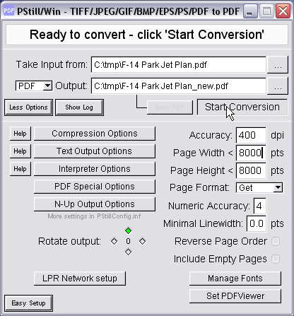 PStill Howto - Tile large PDF pages