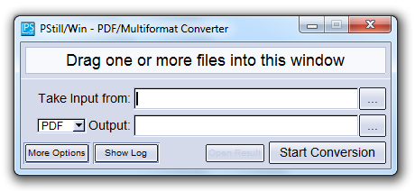PStill PS/EPS to PDF converter
